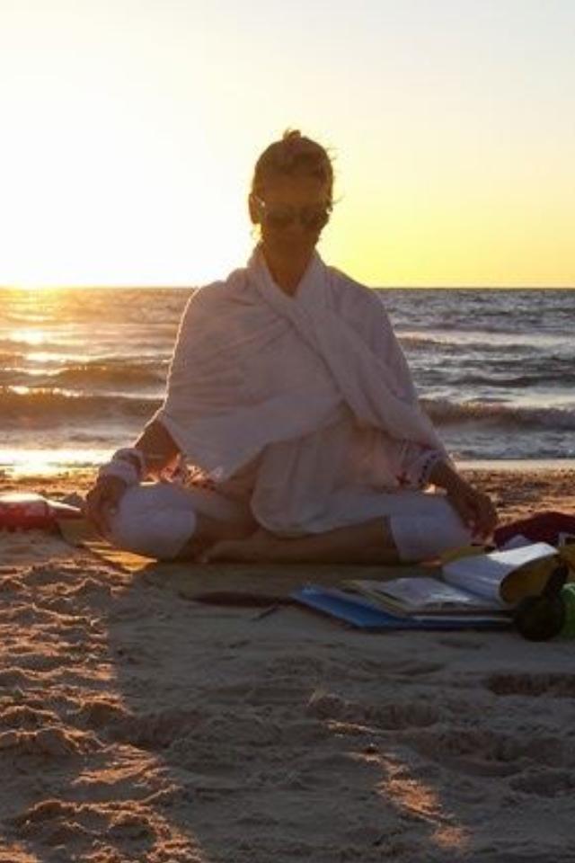 I truly love teaching at the beach!