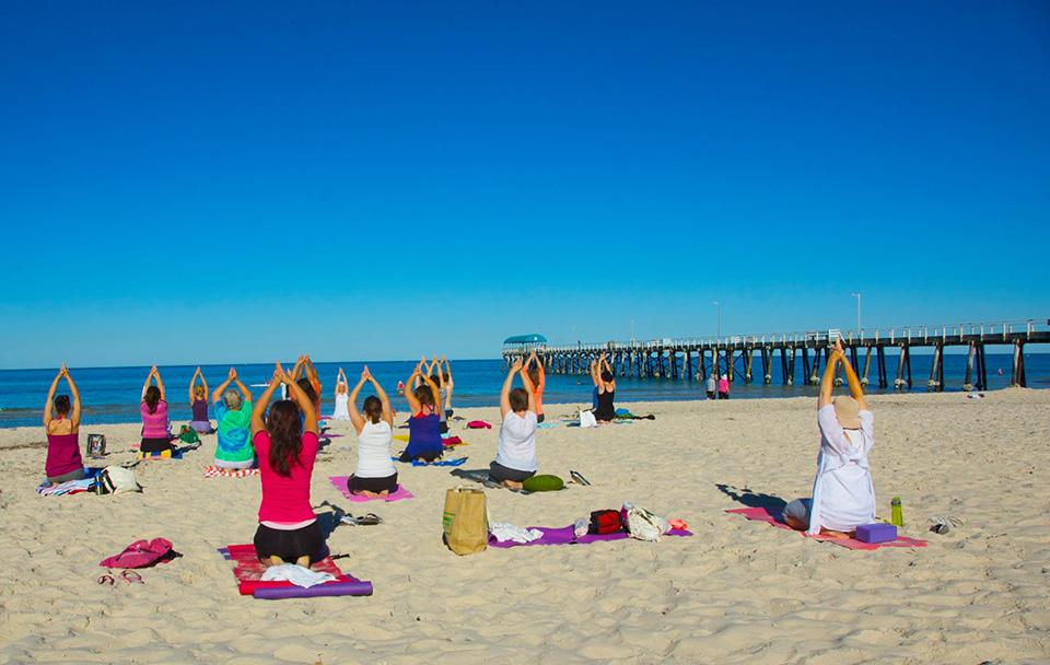 Beach Kundalini Yoga Bliss