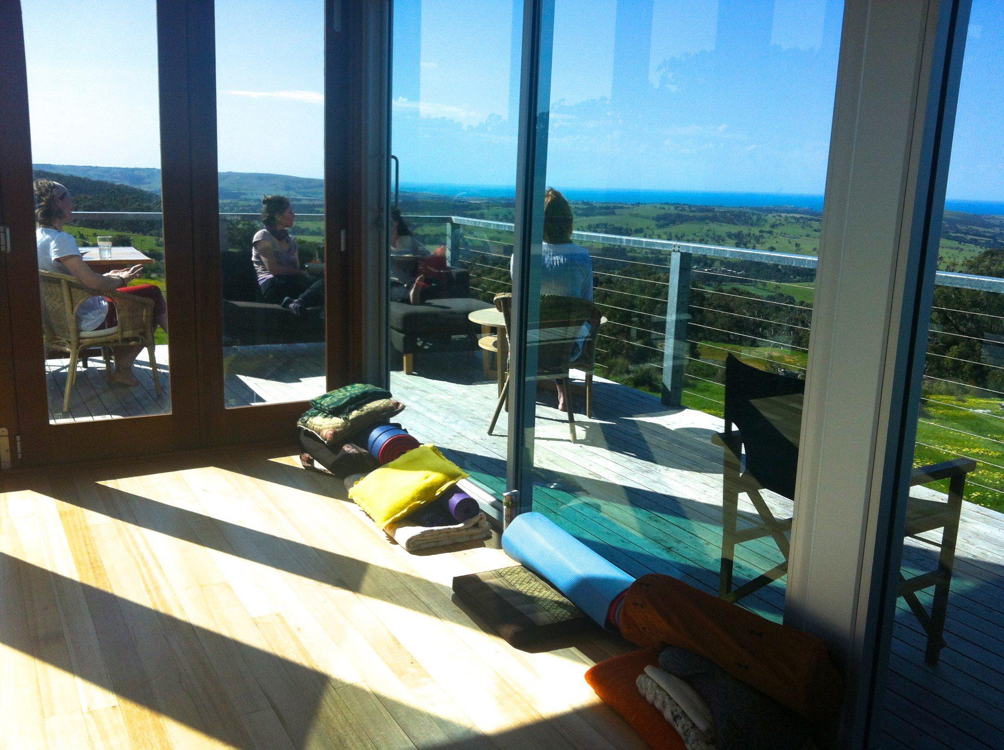At the Eco Lodge Retreat