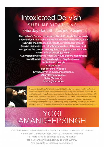 Loved having Yogi Amandeep at Kundalini Studio