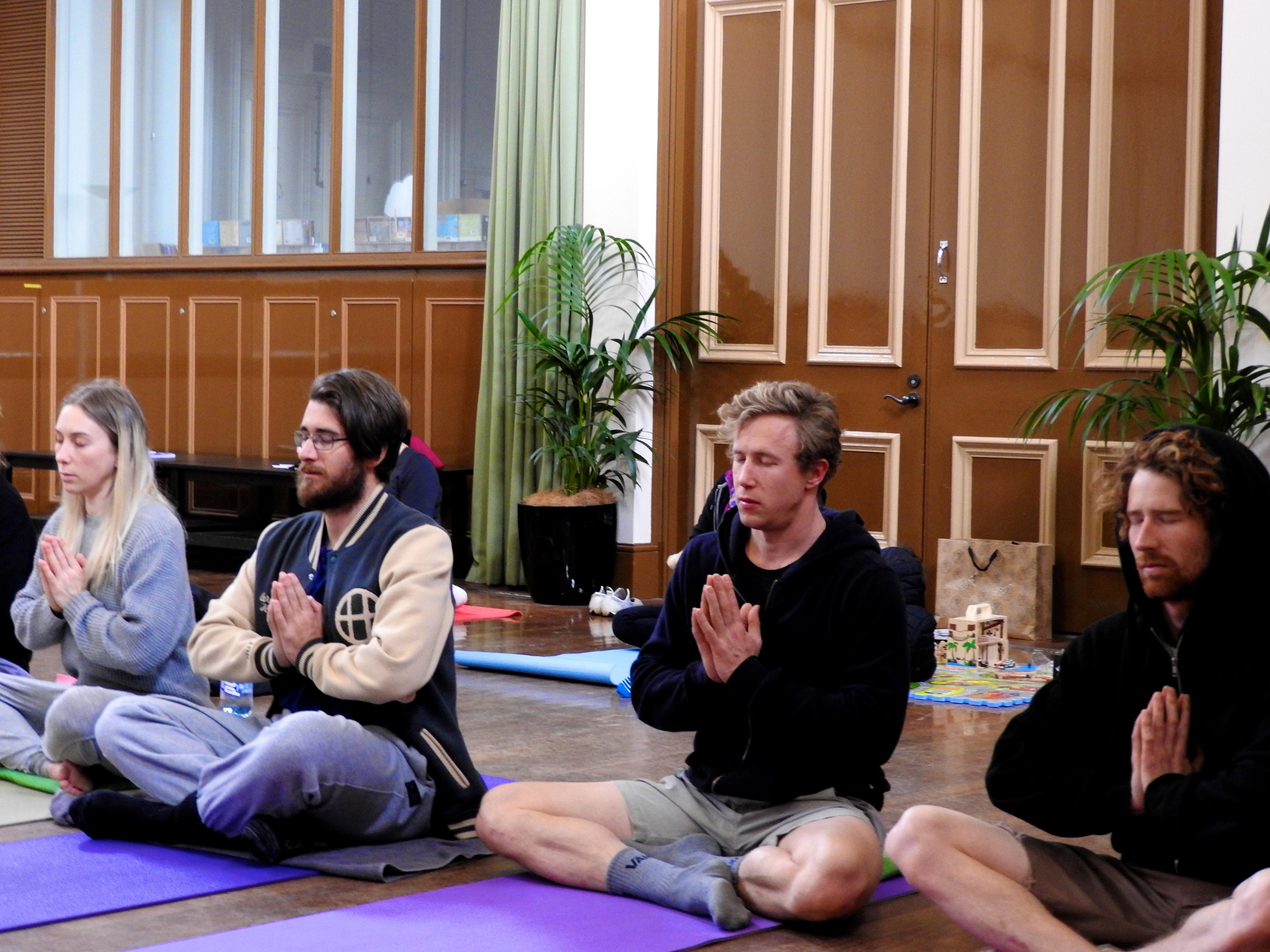 Divine yogis
